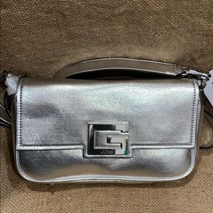 Silver Guess Crossbody/Shoulder Bag BRAND NEW.